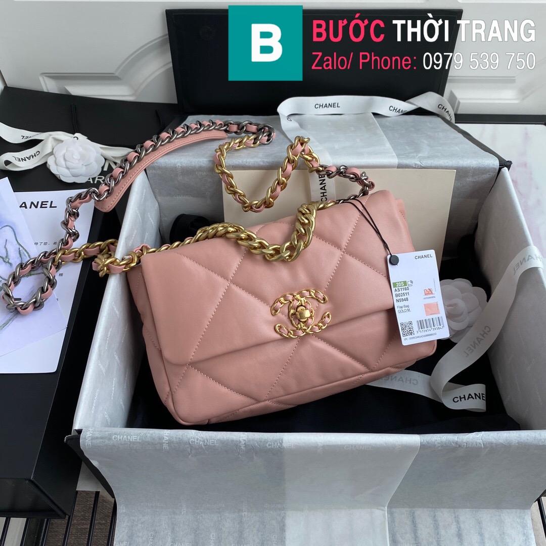 Túi xách Chanel 19 Plap Bag (10)