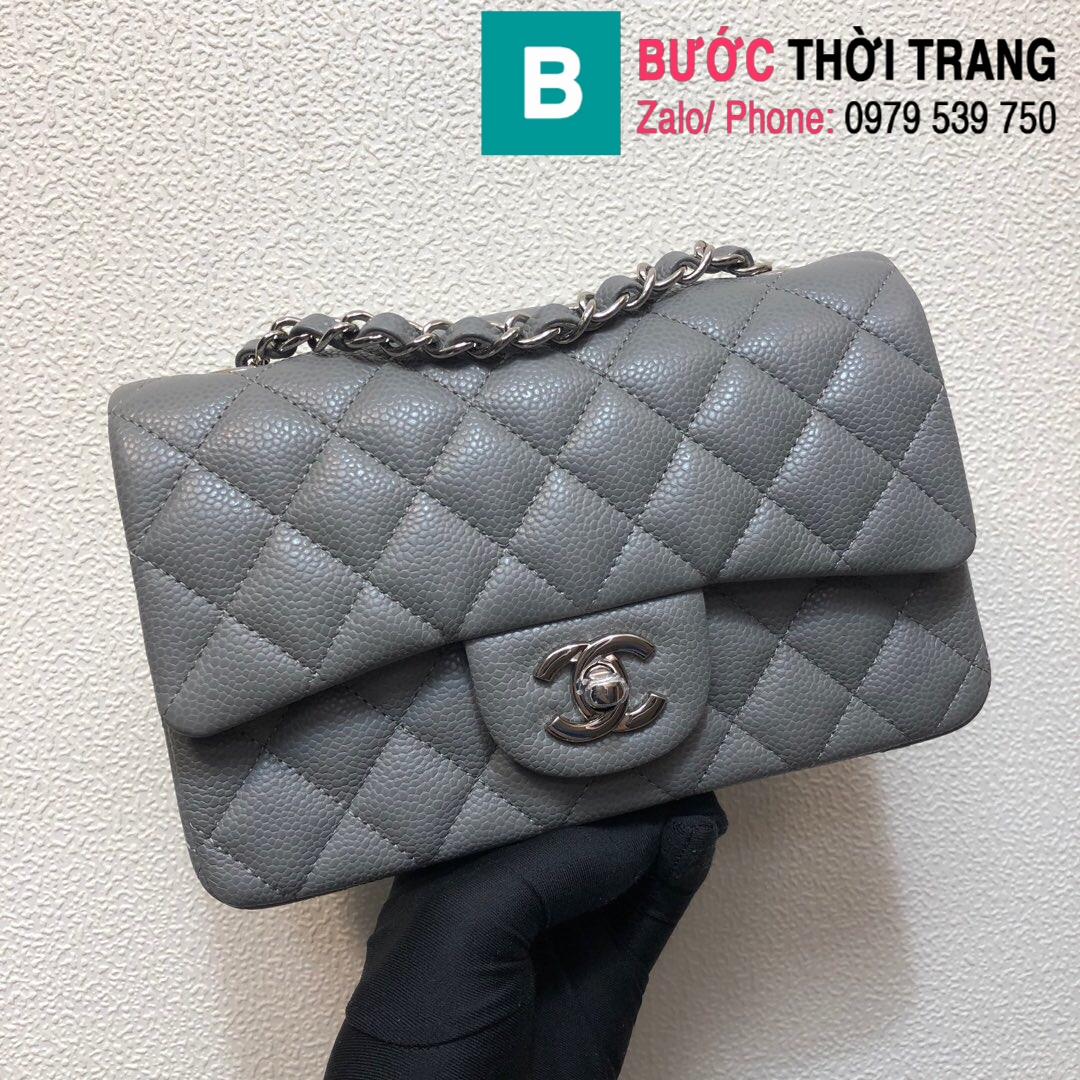 Túi xách Chanel Classic Flap Bag 1116 (69)