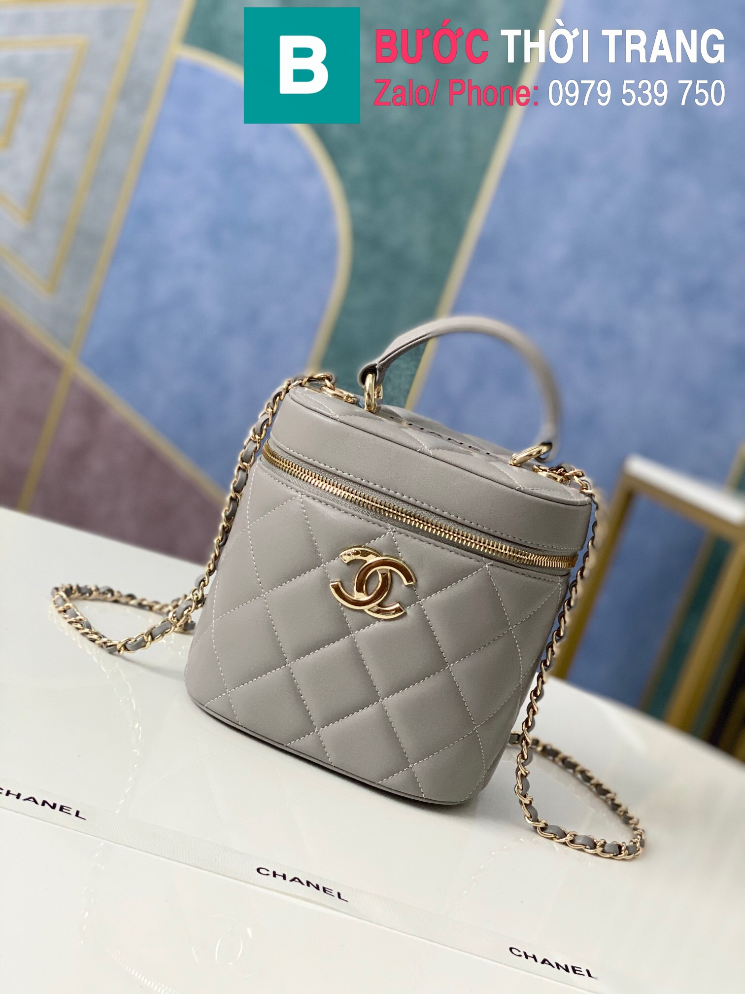 Túi xách Chanel Vantity Case (10)