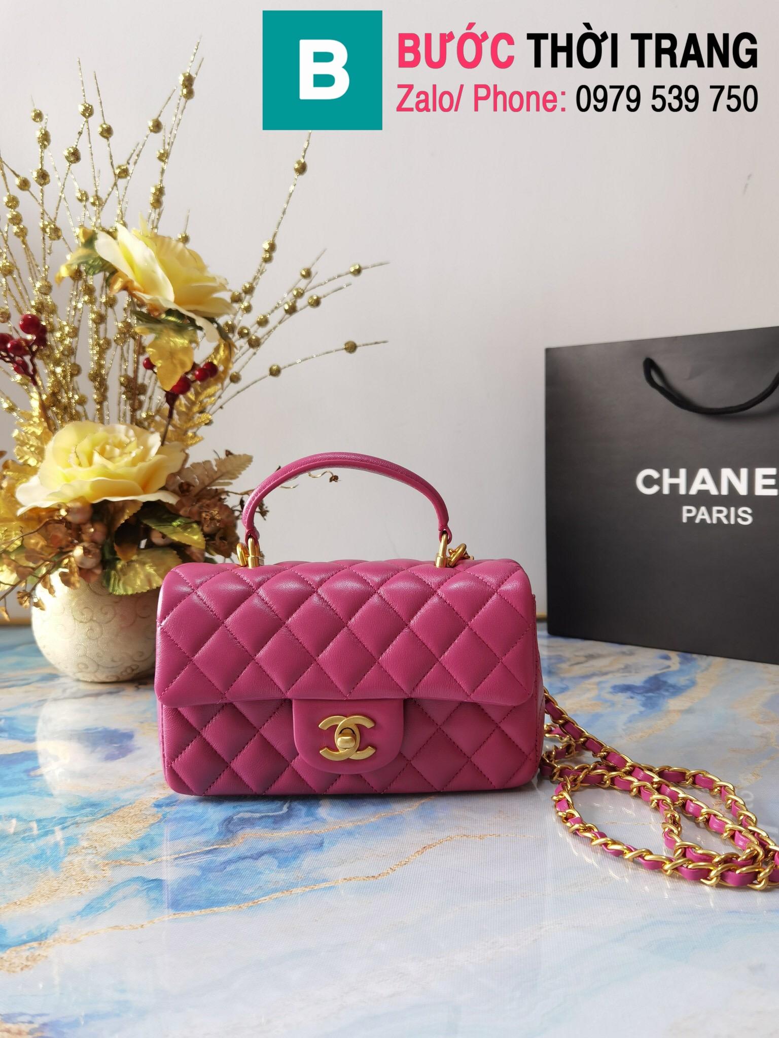 Túi xách Chanel mẫu mới 2021 (9)