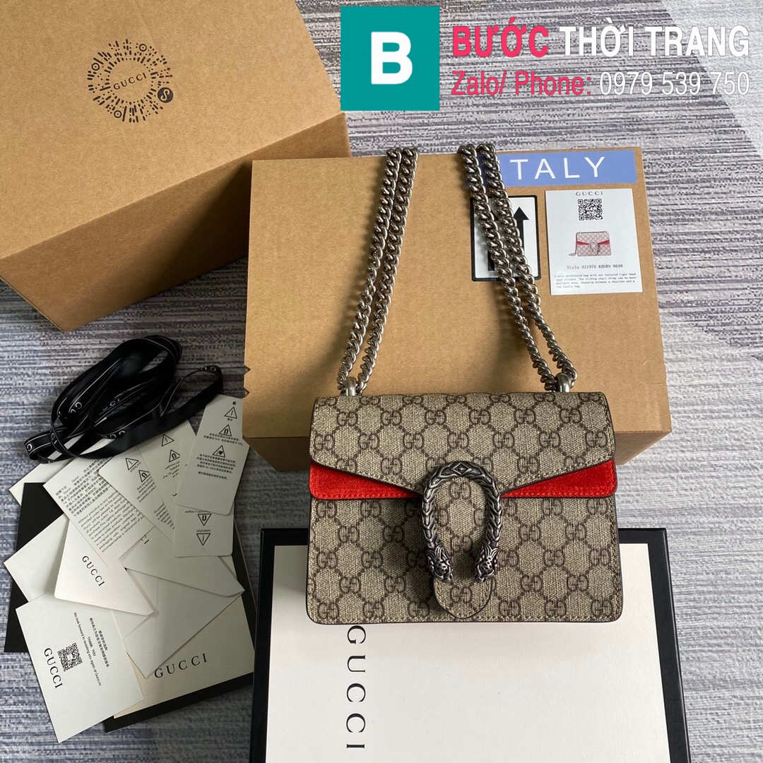 Túi xách Gucci Dionysus small shoulder bag (82)