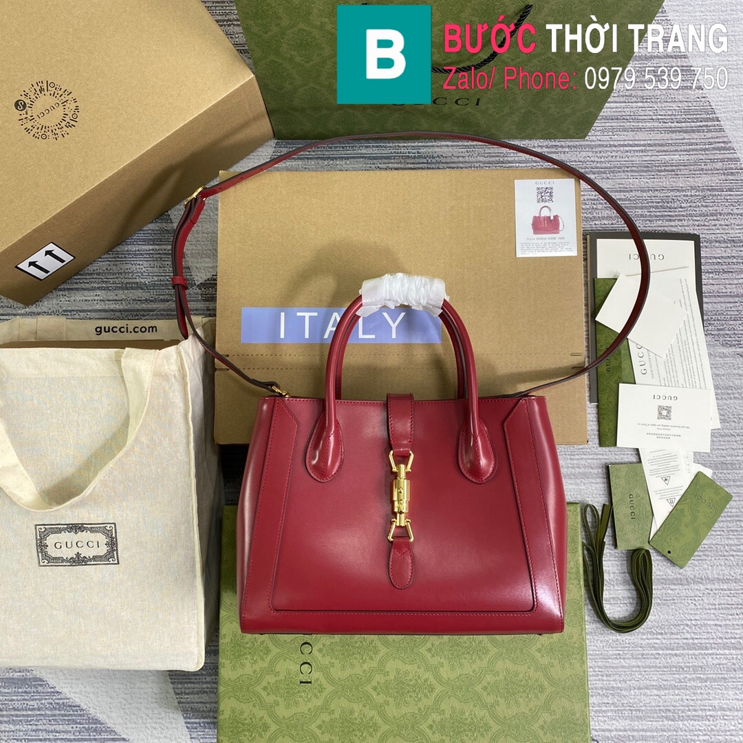 Túi xách Gucci Jacki 1961 Medium Tote Bag (10)