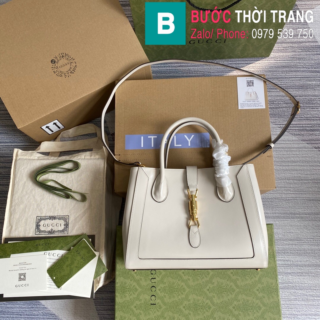 Túi xách Gucci Jacki 1961 Medium Tote Bag (19)