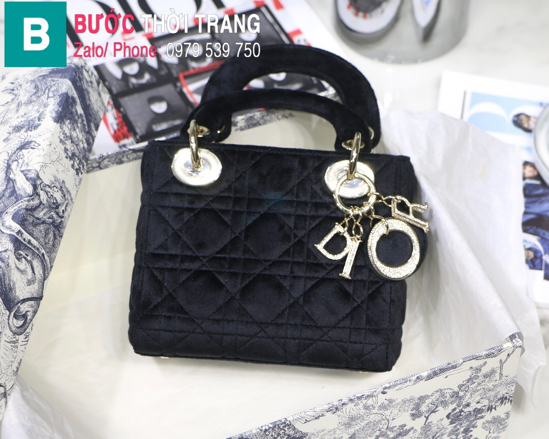 Túi xách Dior Lady Mini bag (46)