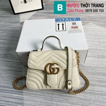 Túi xách Gucci Marmont mini top handle bag (1)