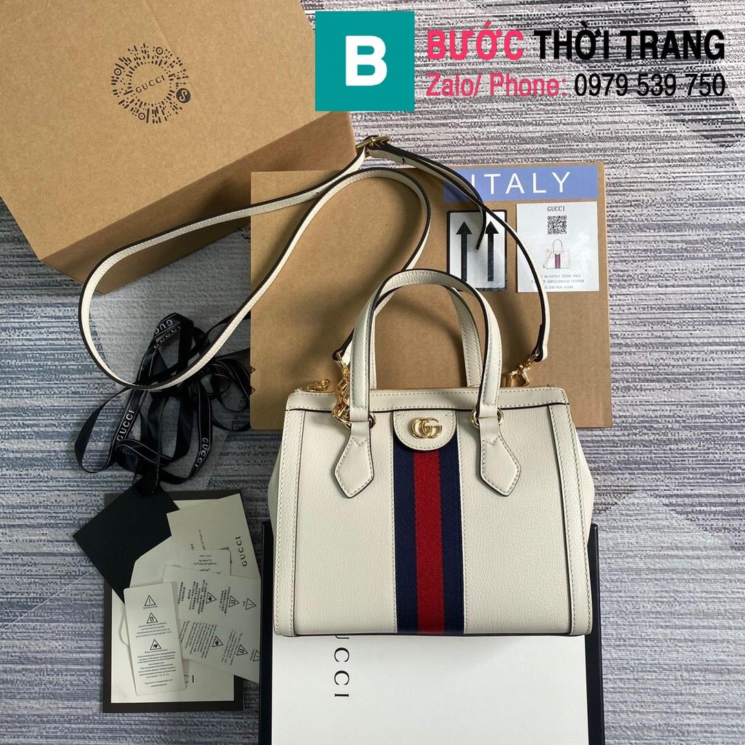 Túi xách Gucci Ophidia small GG tote bag (10)