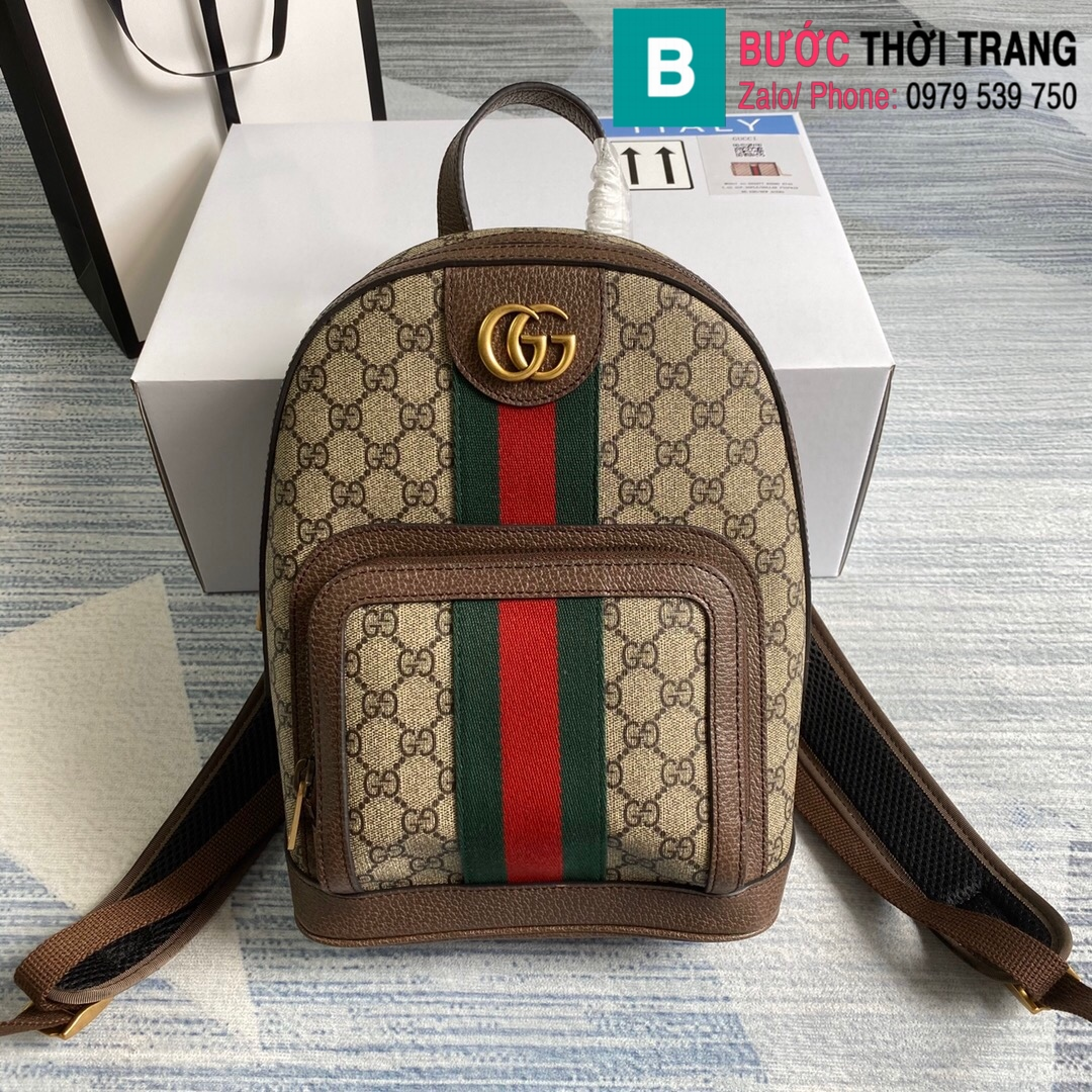 Túi xách Gucci OphidiaGG small backpack (10) – Copy