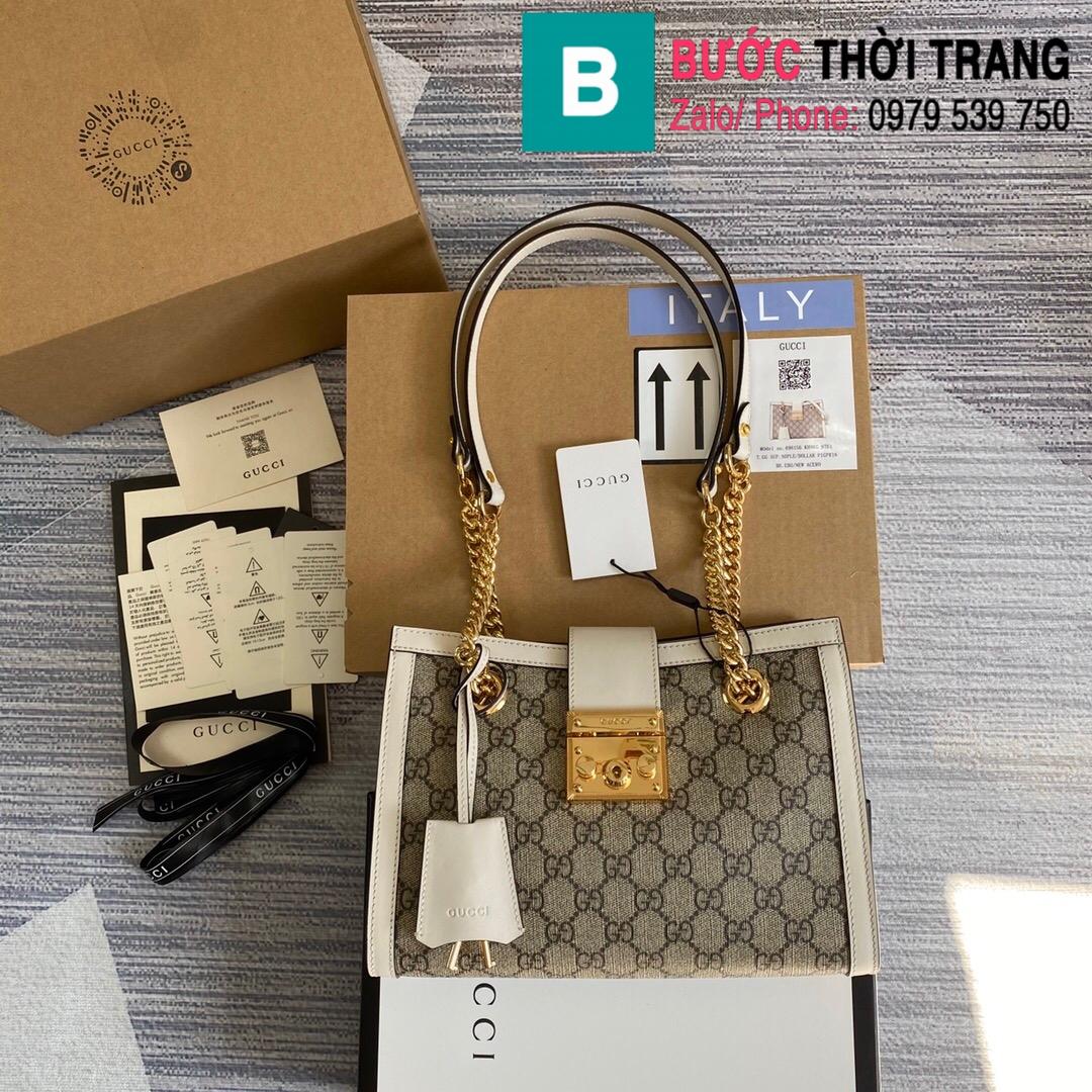 Túi xách Gucci Padlock GG small shoulder bag (1)