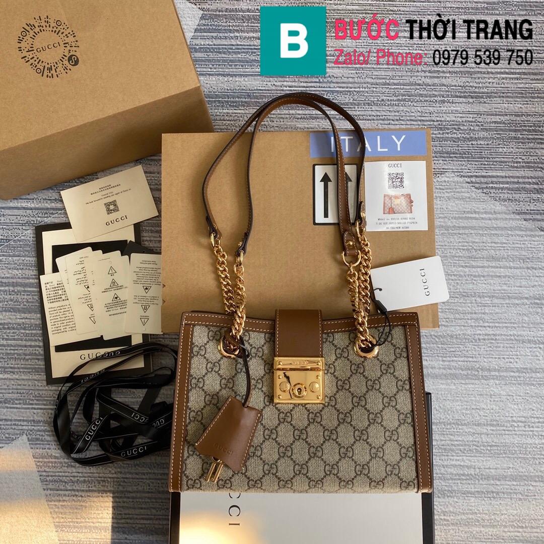 Túi xách Gucci Padlock GG small shoulder bag (10)