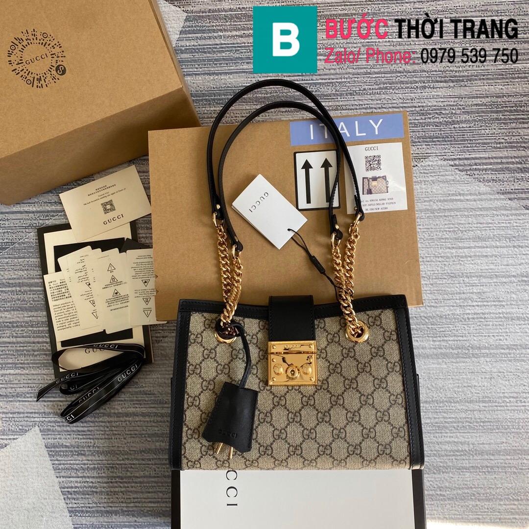 Túi xách Gucci Padlock GG small shoulder bag (19)