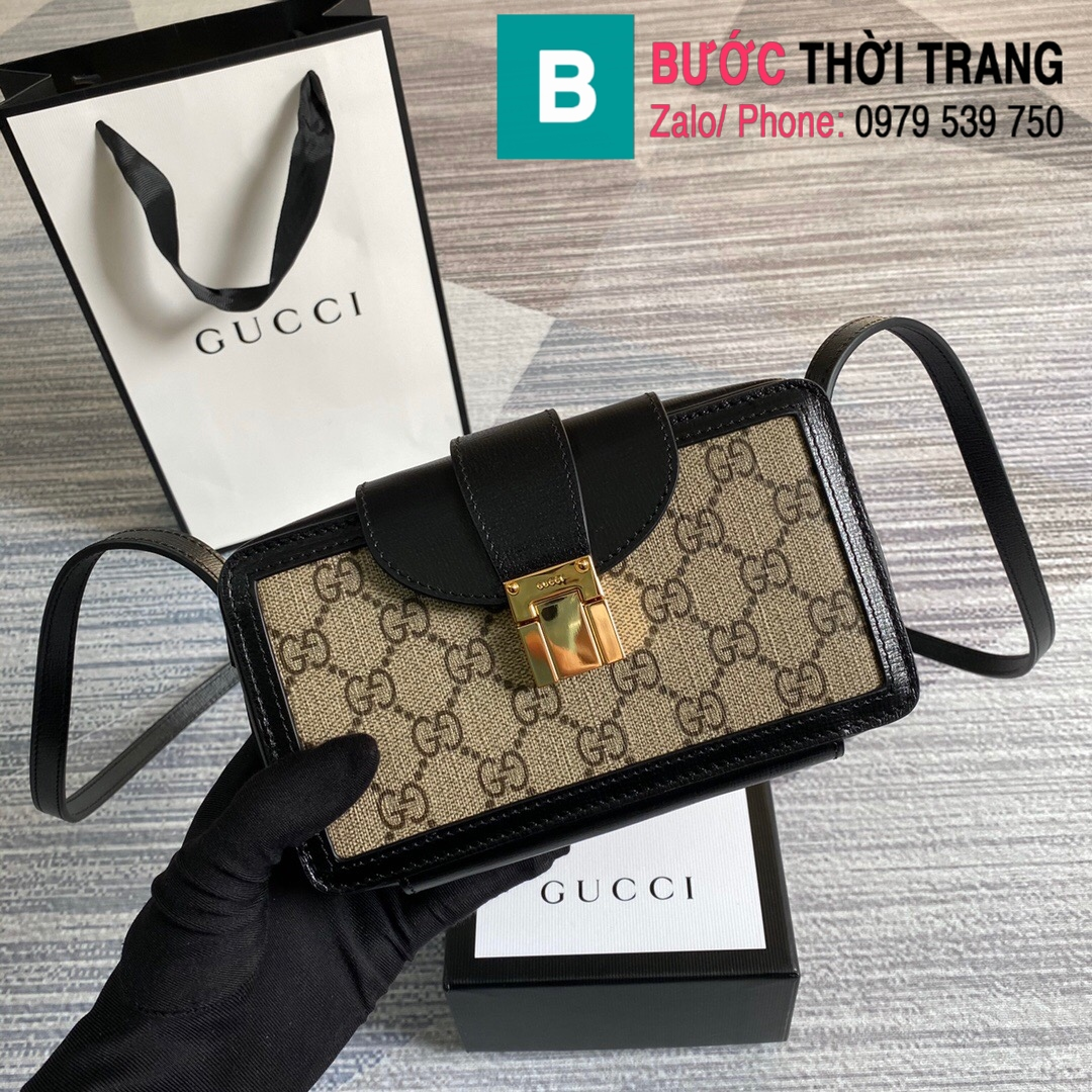 Túi xách Gucci mini bag with clasp closure (1)