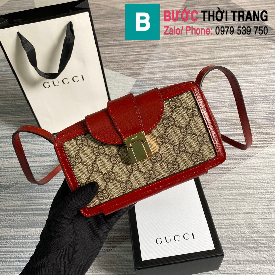 Túi xách Gucci mini bag with clasp closure (19)