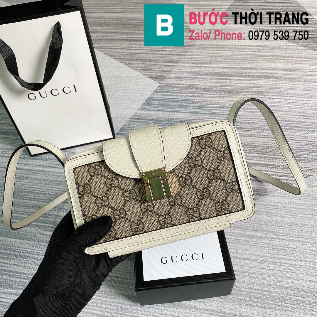 Túi xách Gucci mini bag with clasp closure (28)