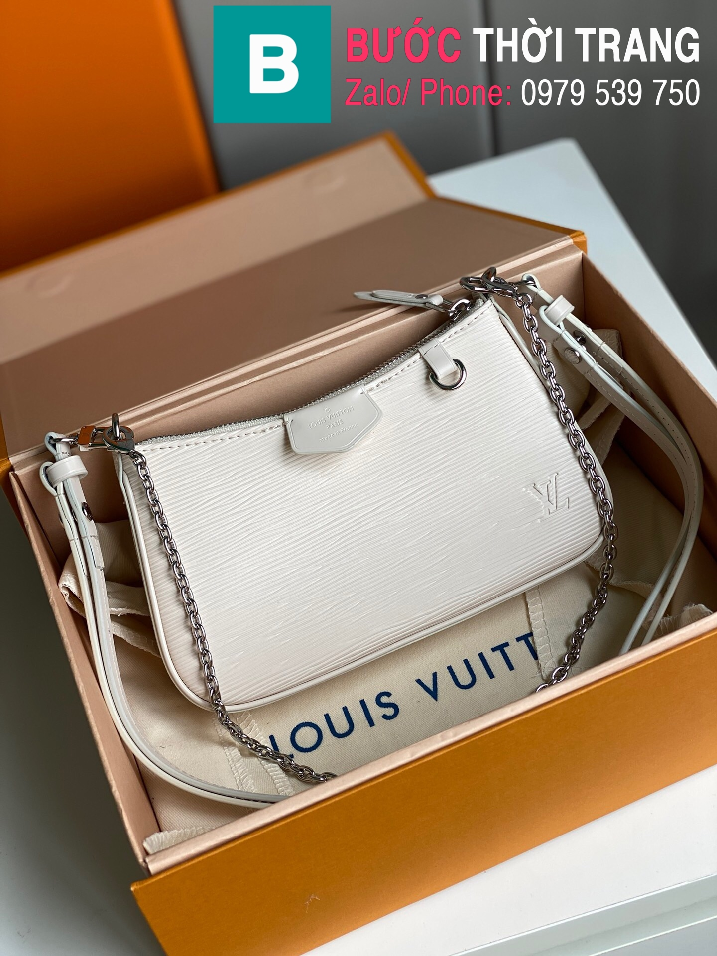 Túi LV Louis Vuitton Easy Pouch On Strap (1)