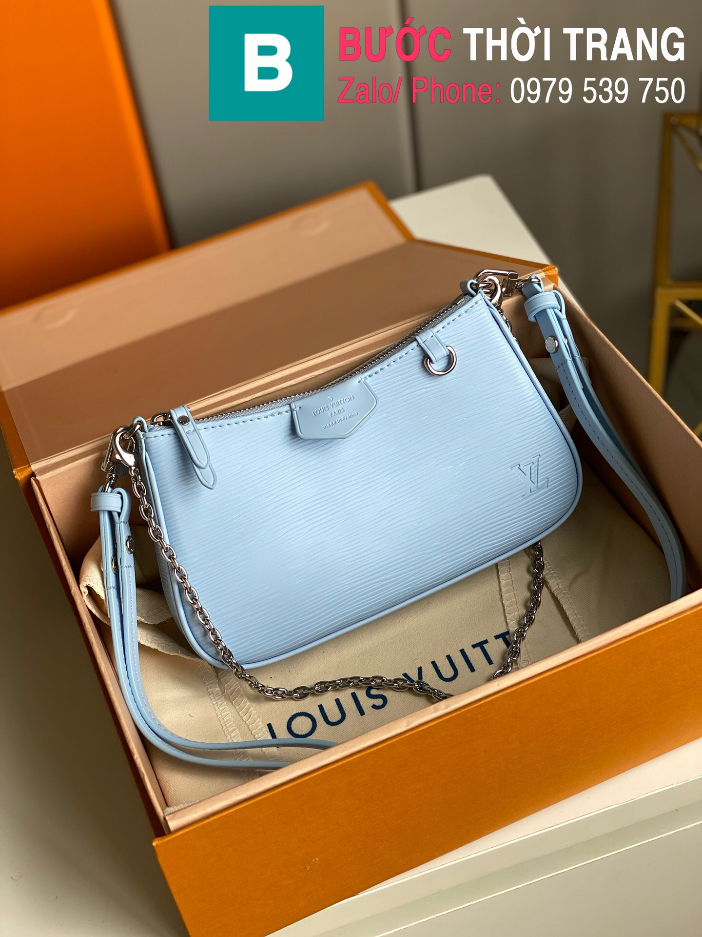 Túi LV Louis Vuitton Easy Pouch On Strap (10)