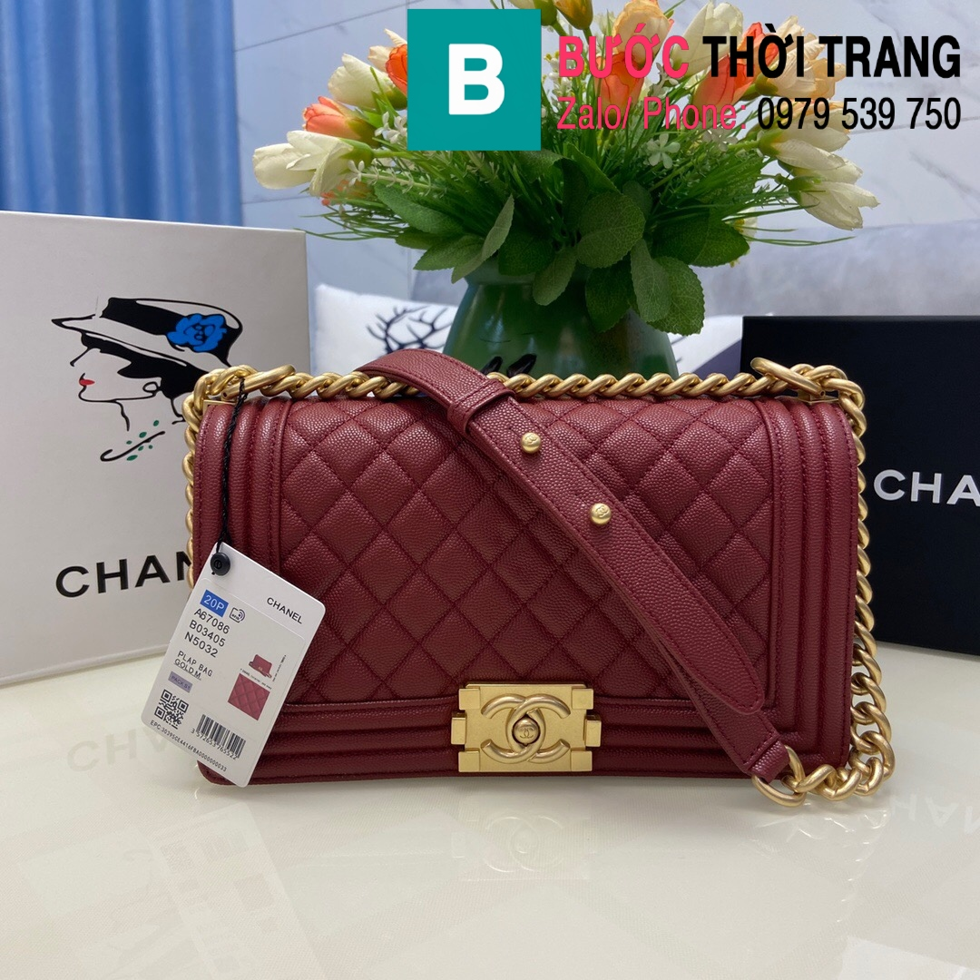 Túi xách Chanel Boy (37)
