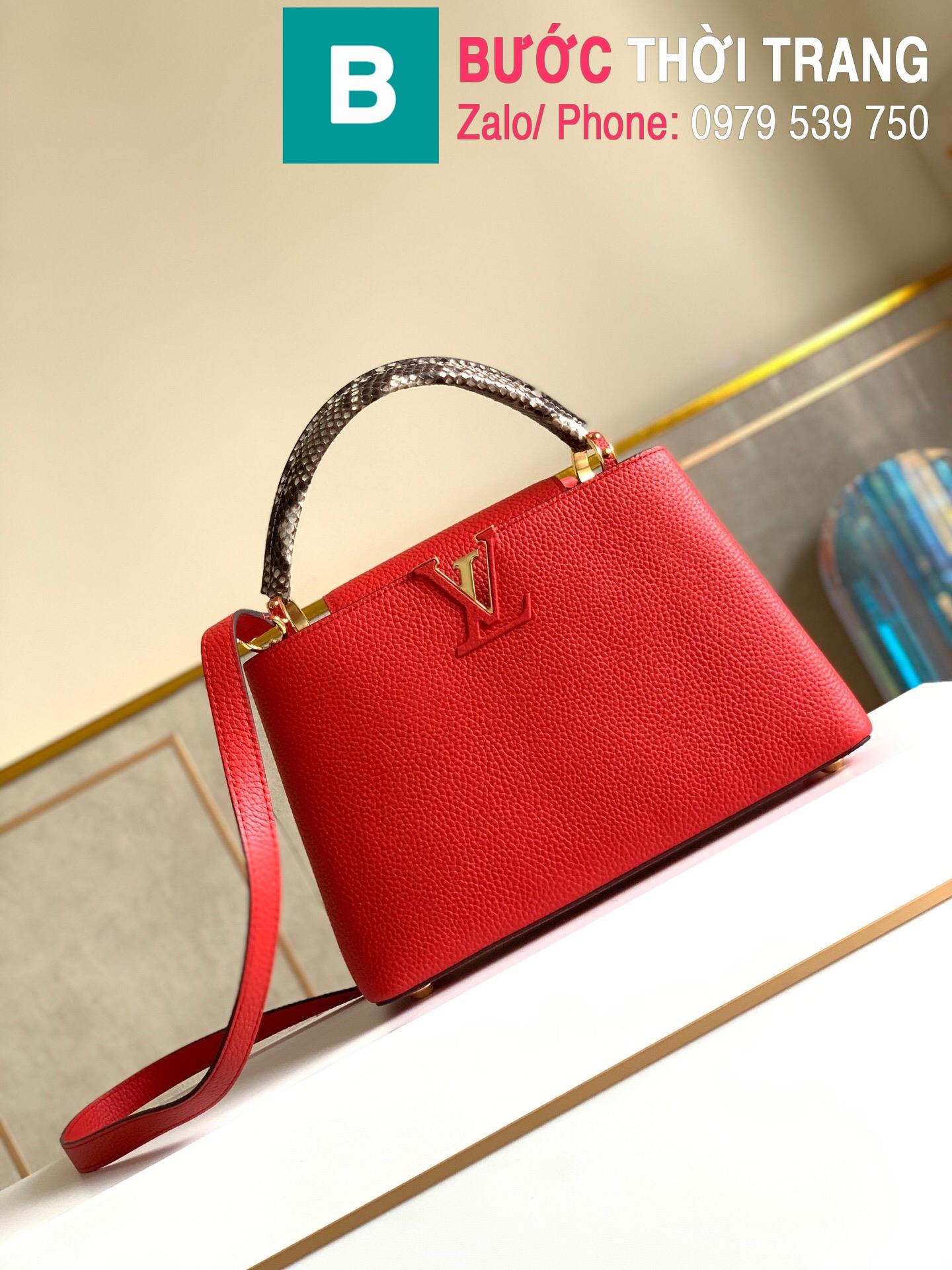 Túi xách LV Louis Vuitton Capucines Bag (1)