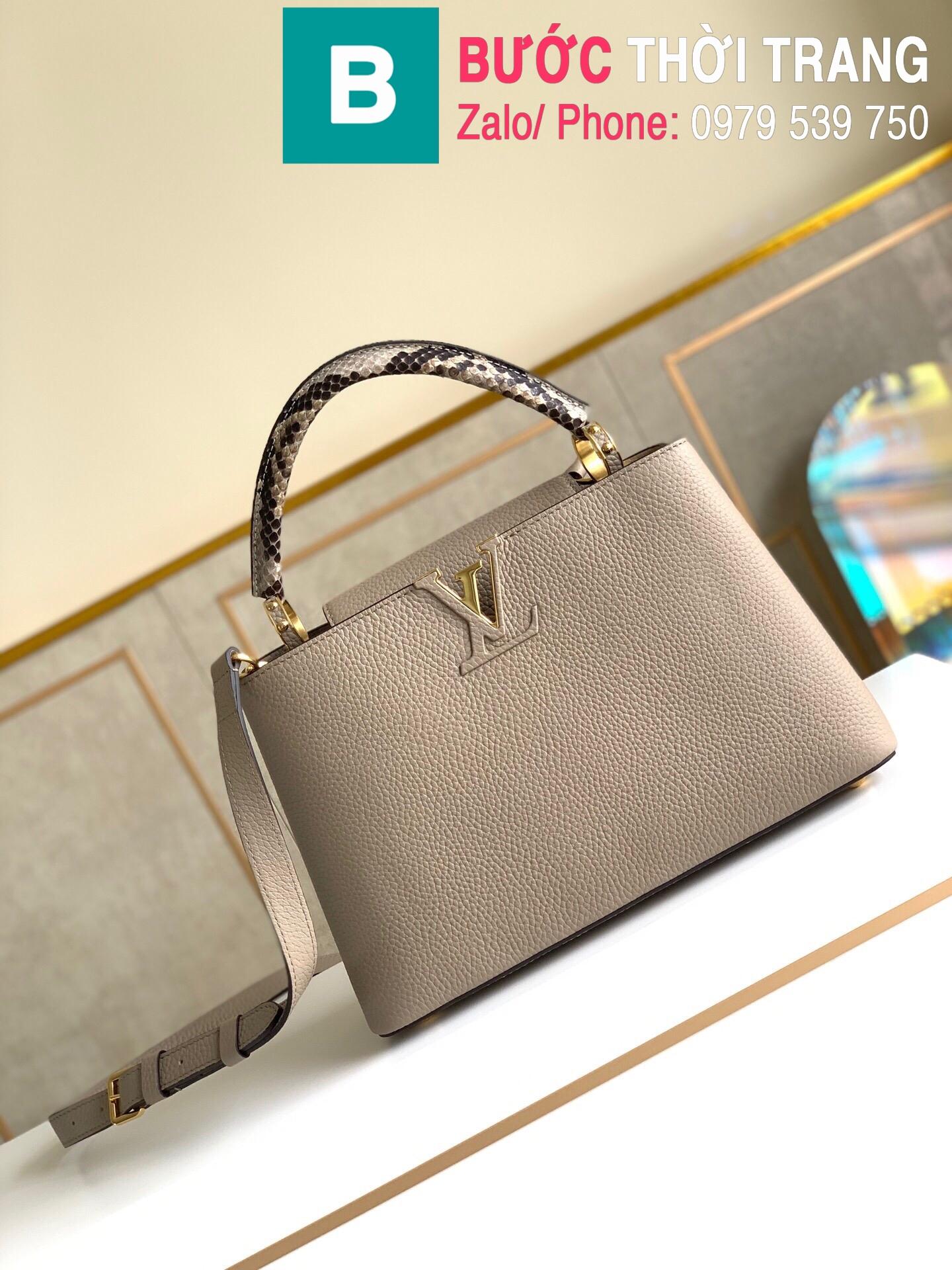 Túi xách LV Louis Vuitton Capucines Bag (10)