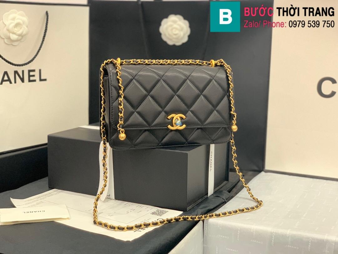 Túi xách Chanel Lambskin Classic Flap Bag (1)
