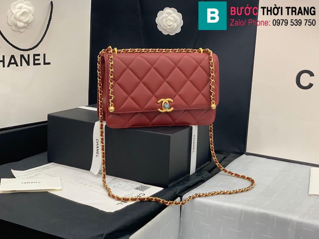 Túi xách Chanel Lambskin Classic Flap Bag (19)
