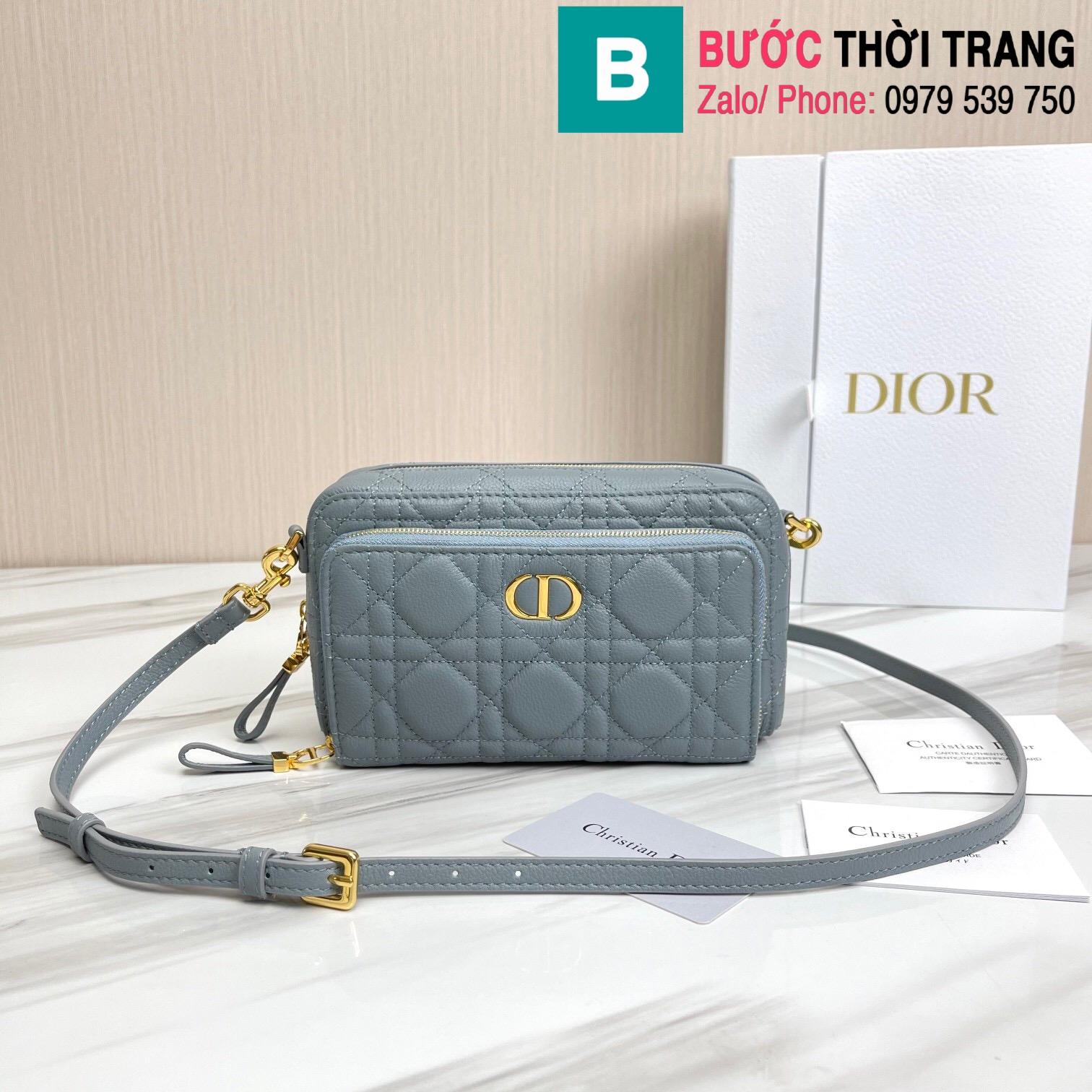 Túi xách Dior caro bag (55)