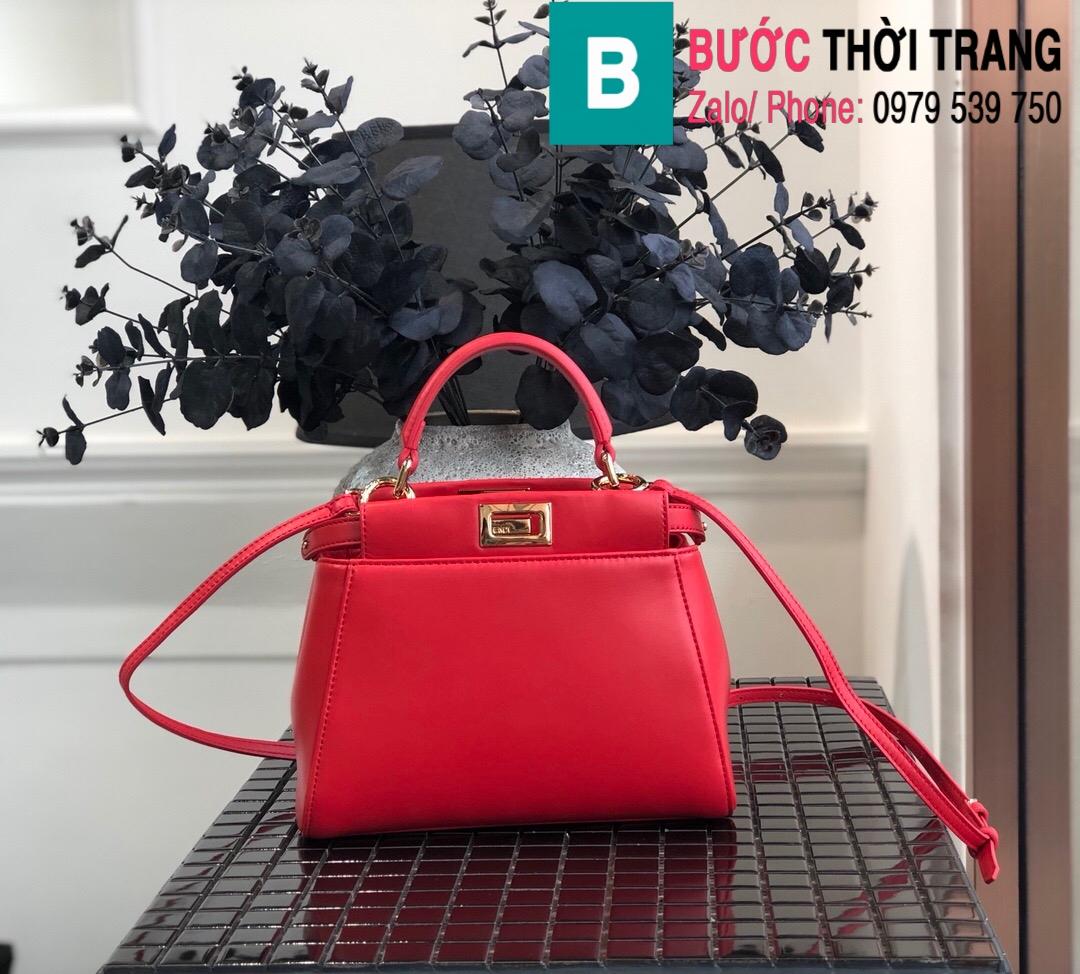 Túi xách Fendi Peekaboo iconic mini (1)