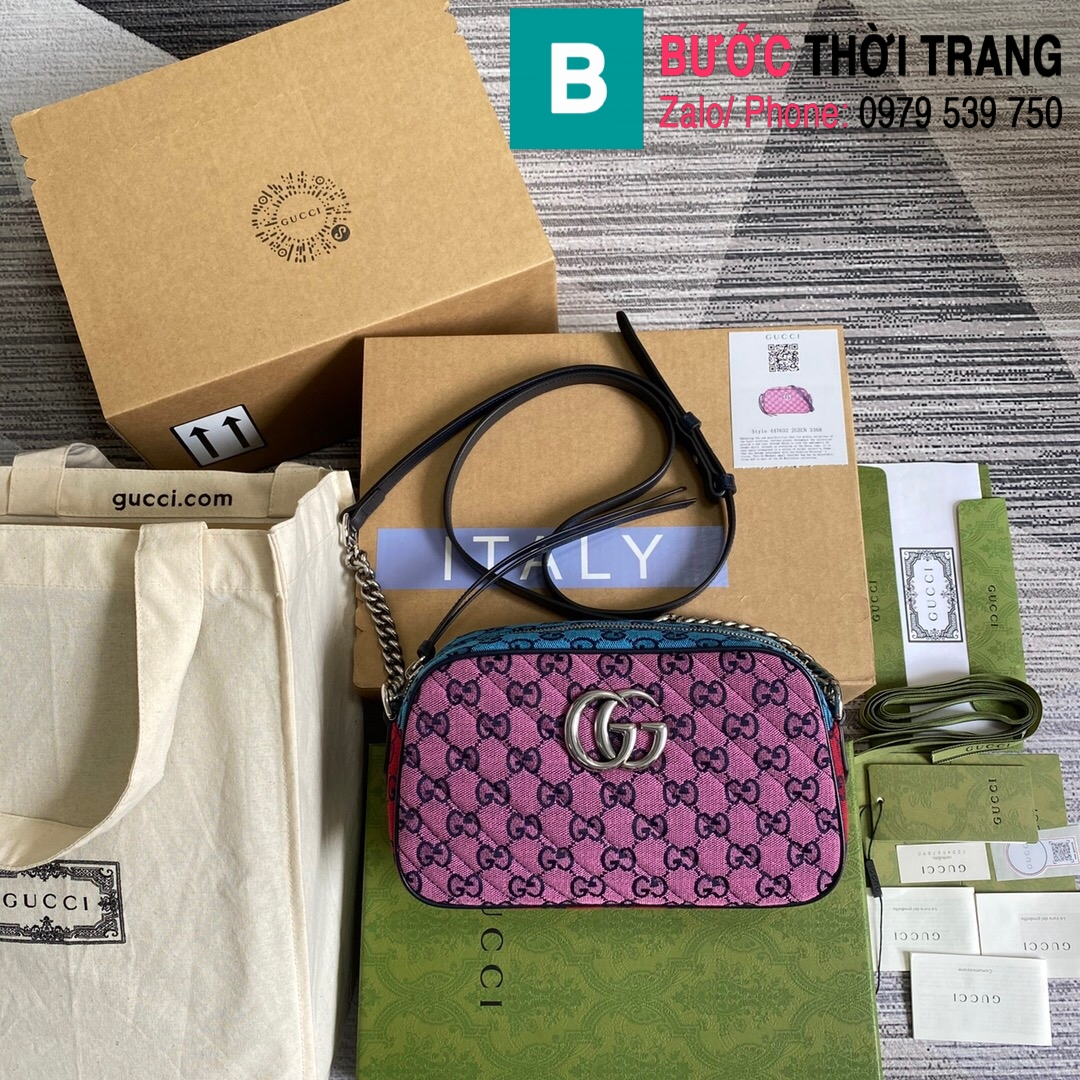 Túi xách Gucci Marmont small shoulder bag (10)
