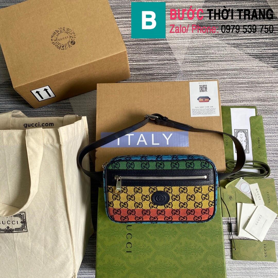 Túi xách Gucci Multicolour belt bag (10)
