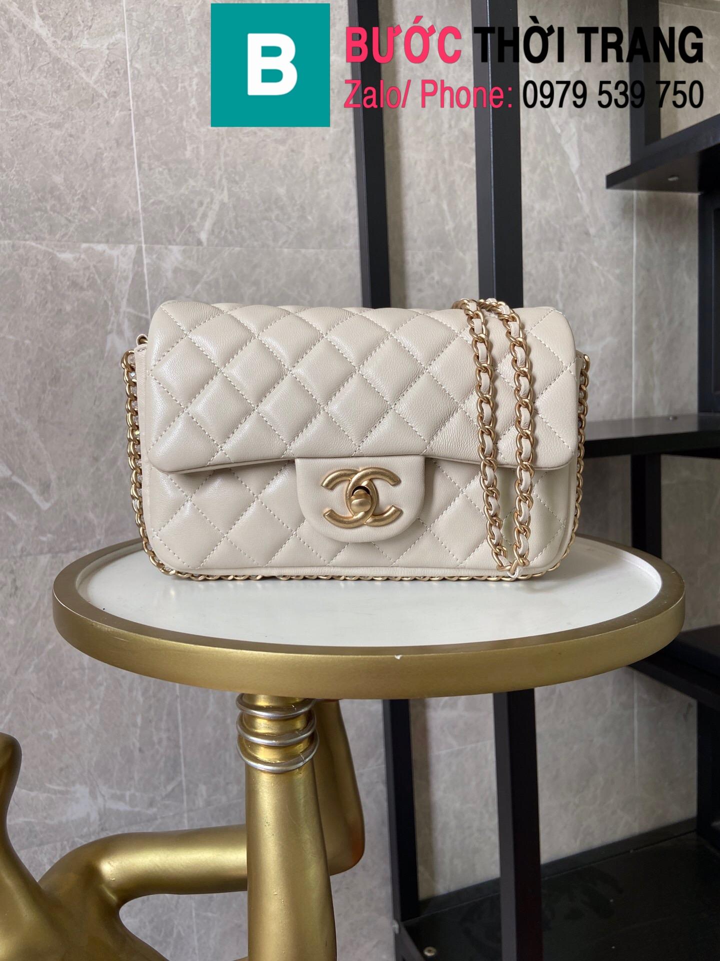 Túi xách Chanel Side Pearl Classic (19)