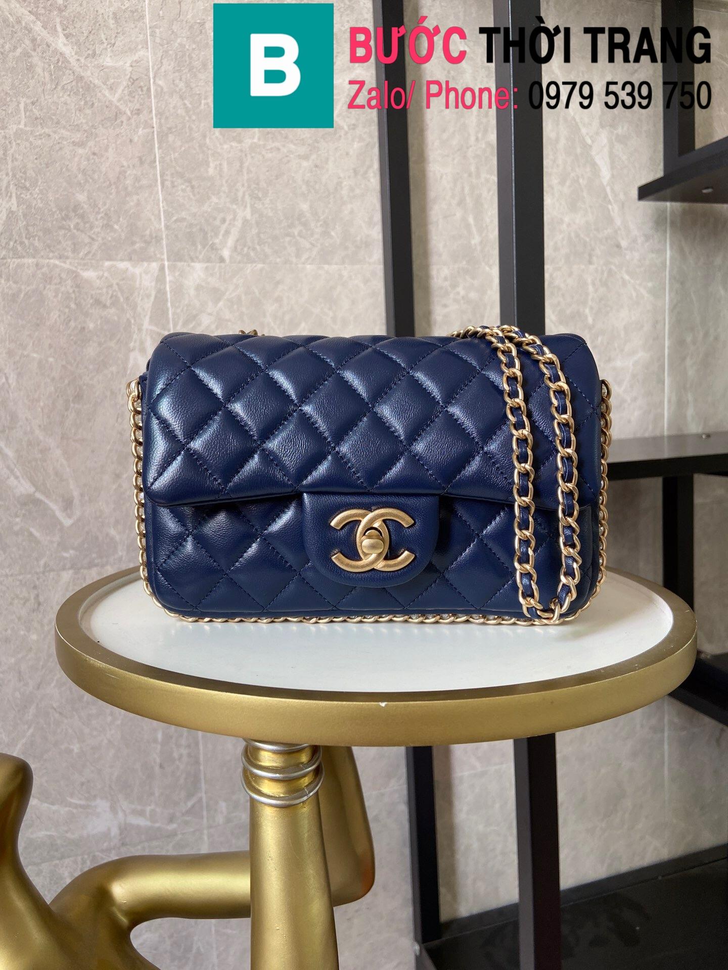 Túi xách Chanel Side Pearl Classic (28)