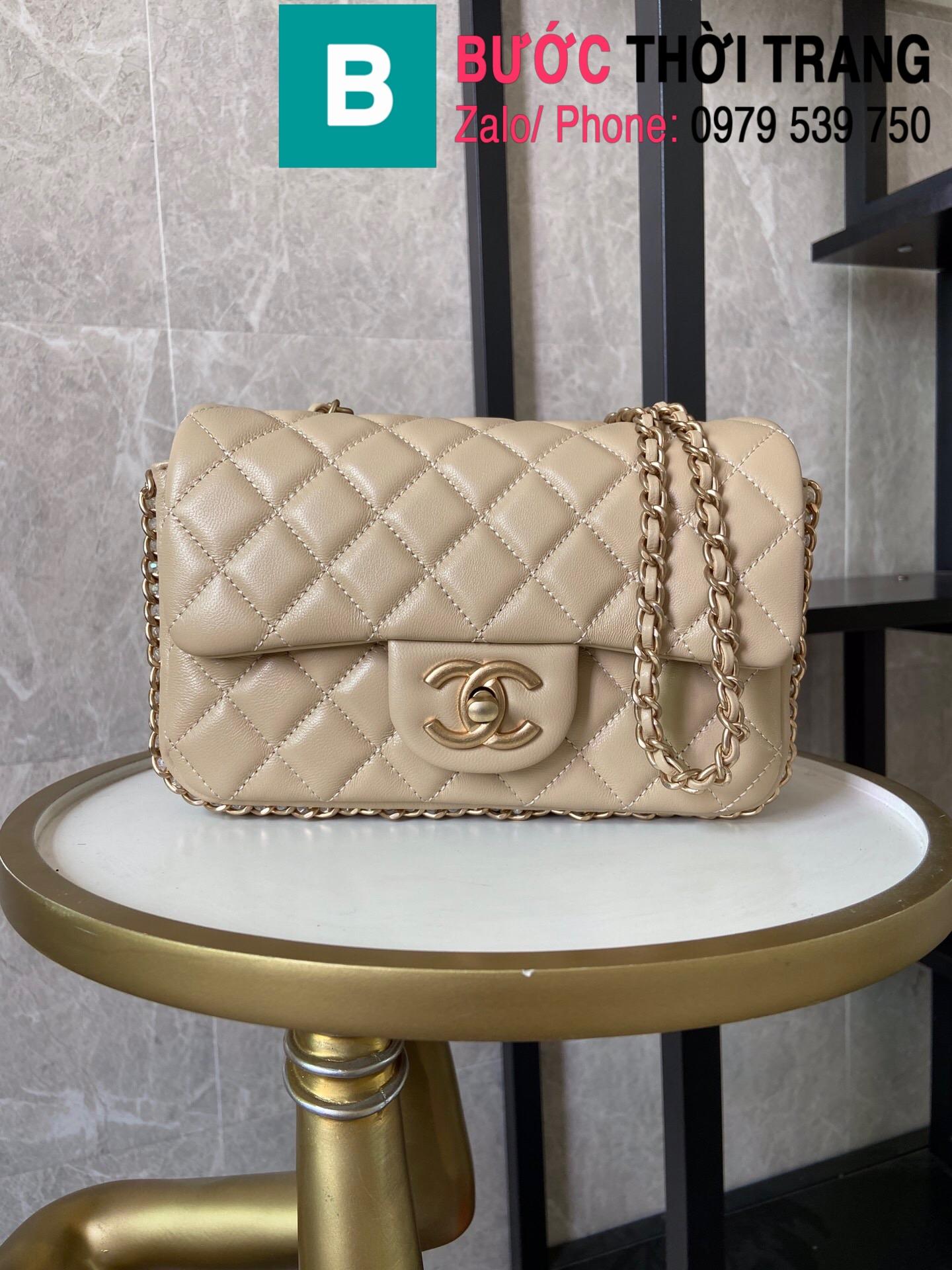 Túi xách Chanel Side Pearl Classic (37)