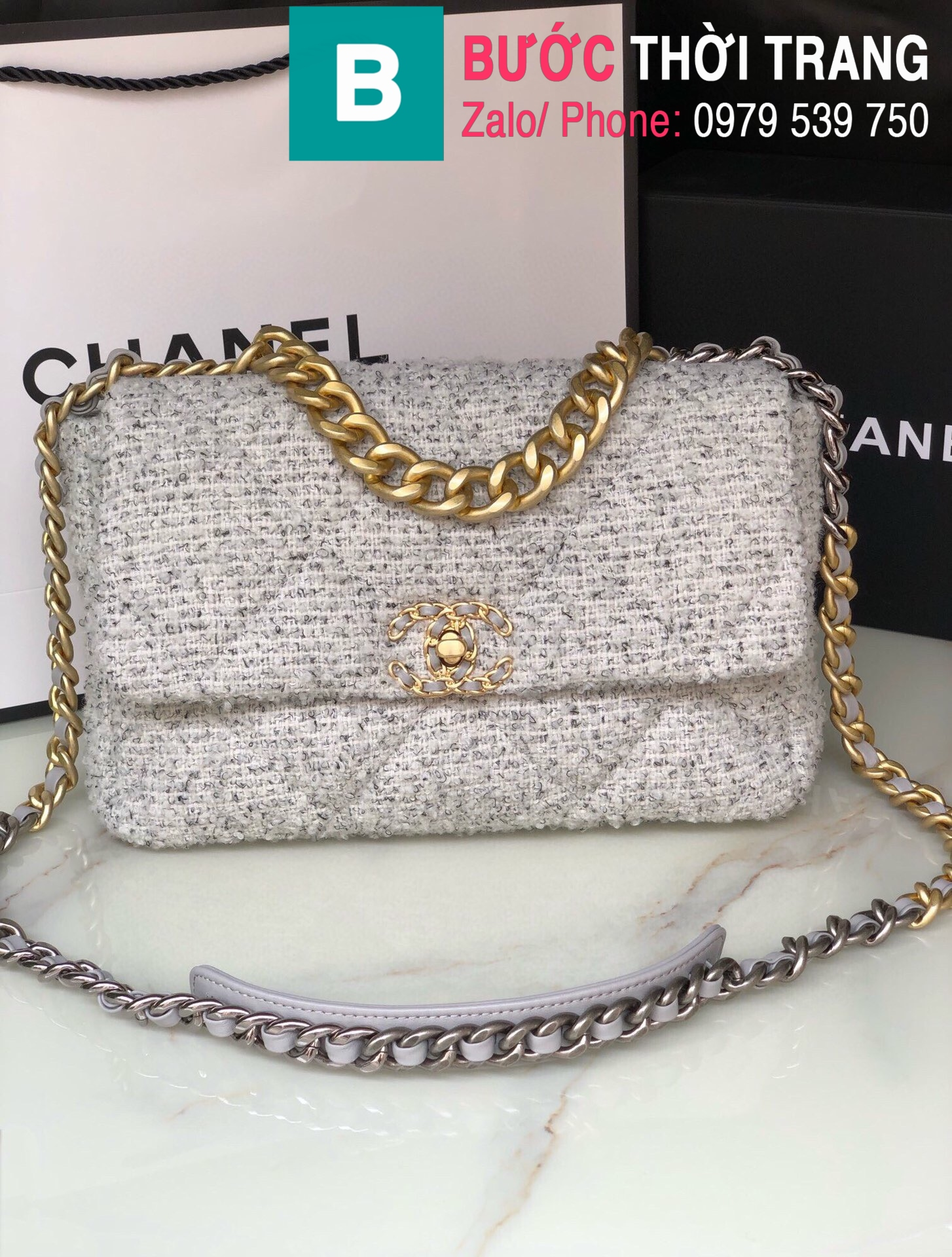 Túi xách Chanel 19bag (1)